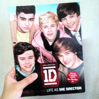 One Direction books + magazines/posters