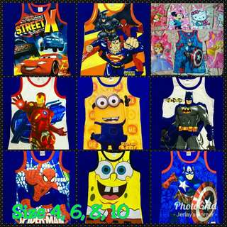 Sando with Cartoon Characters