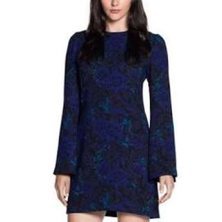 Cue Size 10 Bell Sleeve Floral Dress