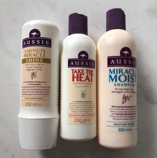 Aussie Shampoo, Conditioner, Deep Treatment