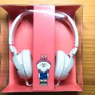 (含運)LINE熊大兔兔正版耳機