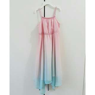 (H&M) Unicorn Kids Long Dress
