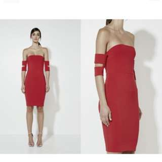 Mossman lost for words dress
