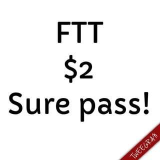 FTT (100% Pass)