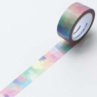 Watercolour Abstract Washi Tape / 20mm x 10m Washi tape / Craft Supplies / Decoration Tape / LUNARBAY WASHI TAPE