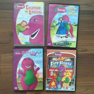 #1212YES Original Barney DVDs