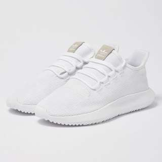 All white adidas tubular