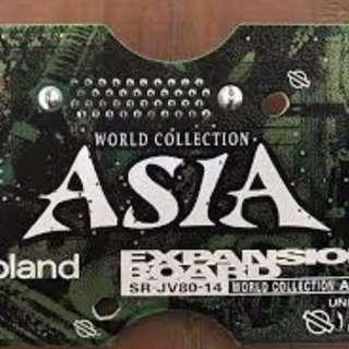 Roland Asia 亞州卡
