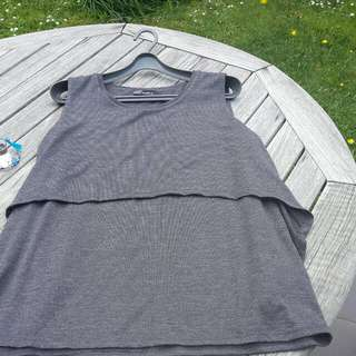 Whistle grey top XL