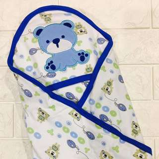 Infant Blanket/Towel/Bedung Hooded