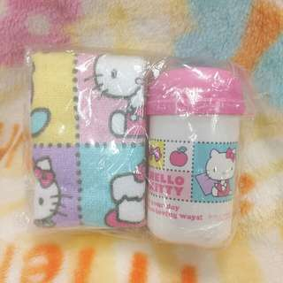 ♧ sanrio Hello Kitty 手巾仔 套裝