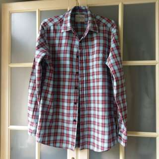 Flannel休閒上衣(男L)