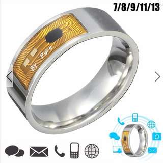 SMART FINGER RING - NFC TAG SMART MAGIC FINGER RING FOR SAMSUNG ANDROID PHONE WITH FREE SHIPPING