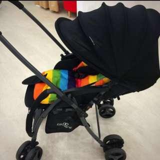 Koopers Stroller With Black Frame