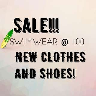 SALE ITEMS SHOES SWIMSUIT CLOTHES