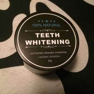 Charcoal Teeth Whitener (100% Organic)