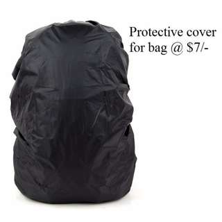 Water proof protective cover for Bag @7/-