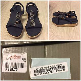 Finickee Blue Sandals