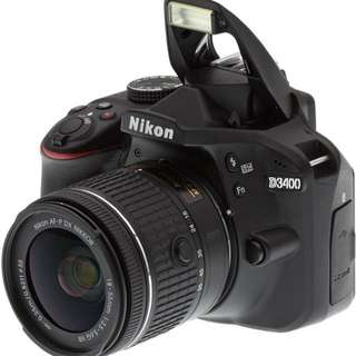 Brand New DSLR Nikon D3400 Kit