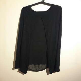 Original Terranove Black Blouse