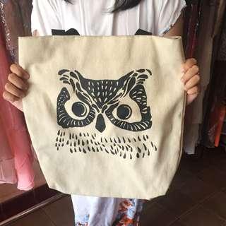 Totebag owl