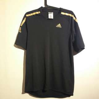 Adidas Black and Gold Jersey