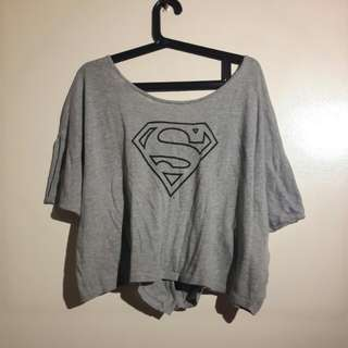 Original Supergirl DC Crop Top