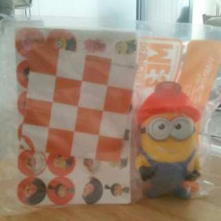 Despicable me 3 checkers mcdonalds toy