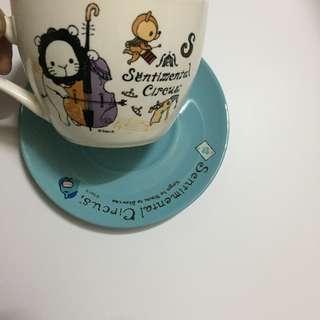 深情馬戲團  憂傷馬戲團咖啡優雅杯盤組 7-11 杯盤組