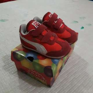 Original PUMA Baby Shoes (Used)