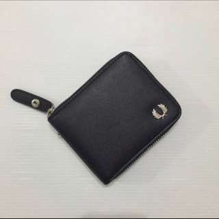 Fred Perry Signature Classic Minimalist Zip Around Wallet