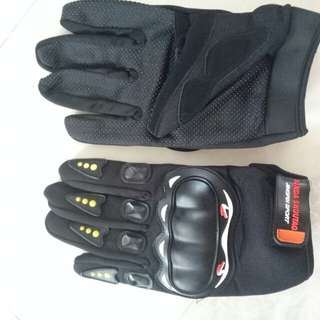 Hard knuckle protection Riding gloves