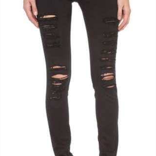 FRAME  ripped jean