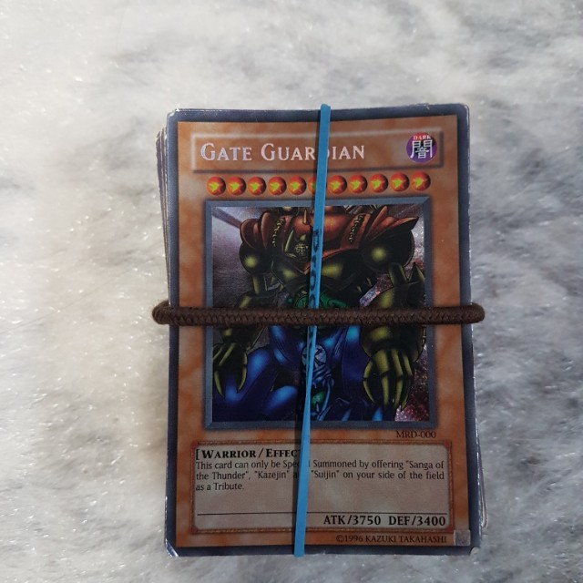 142 Assorted Yugioh cards