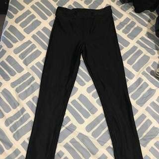 Black tights/disco pants
