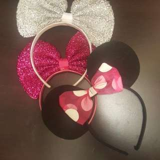 Headbands - Minnie mouse