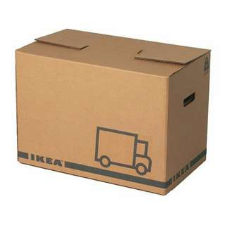 Used Ikea Jattene boxes for sale