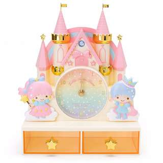 Japan Sanrio Little Twin Star Clock with Chest