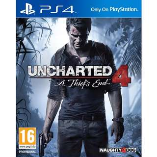 [PS4] Uncharted 4
