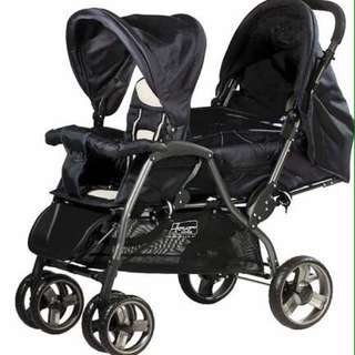 Haco Double Stroller