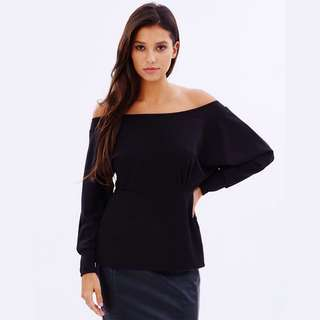 Pasduchas Off the shoulder Black Top