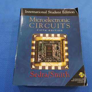 Microelectronic Circuits by Sedra Smith, 5th edition