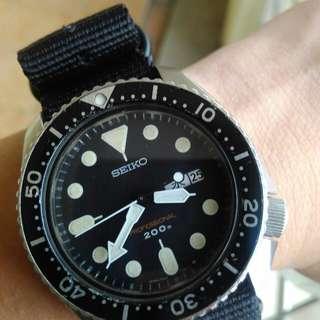 Seiko 7C43-7010 quartz diver