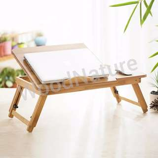 Brand new Bamboo Foldable Notebook table / Bed Tray
