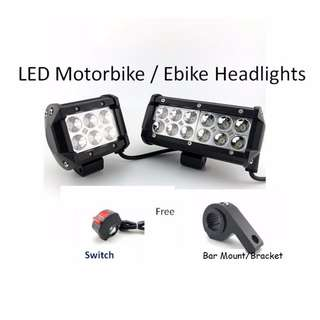 LED light for Motorbike / Ebike