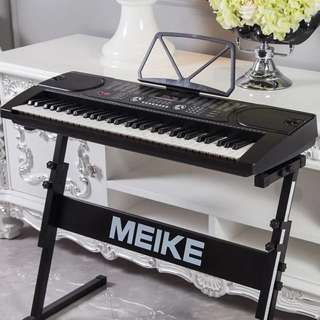 MK-2089Piano keyboard electronic piano digital piano BrandNew 61-Key Portable Keyboard piano Package with Free Microphone and Power Supply (stand not included)