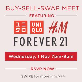 Live Buy-Sell-Swap FOREVER21 x H&M x UNIQLO