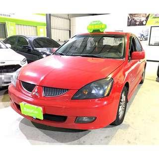 2004年 三菱 GB 紅色 1.8