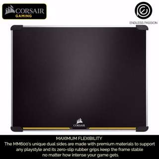 Corsair Gaming MM600 Dual Sided Aluminum Gaming Mouse Pad