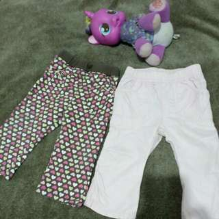 Just one year & Sonoma pants from u.s.(1year old girl)
